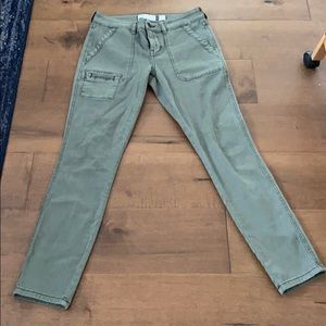 Anthropologie Skinny Cargo Ankle Pants